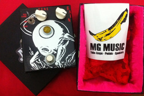 Pedal Mg Music Alien Booster - Treble Booster, Rangemaster