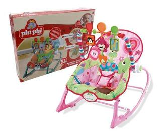 Mecedor Silla 2 En 1 Vibración Musical Bebes Phiphi Toys7086