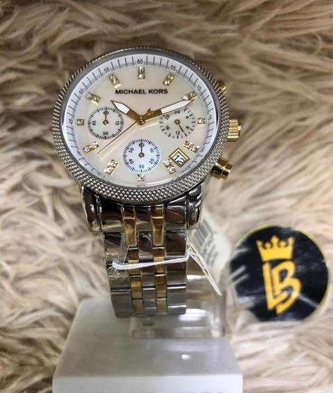 Relógio Mk5057 Original, Garantia, Caixa E Manual