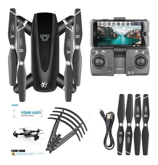 Drone S167 Quadcopter Uav Com Câmera Dupla 4k Hd Fpv Câmera