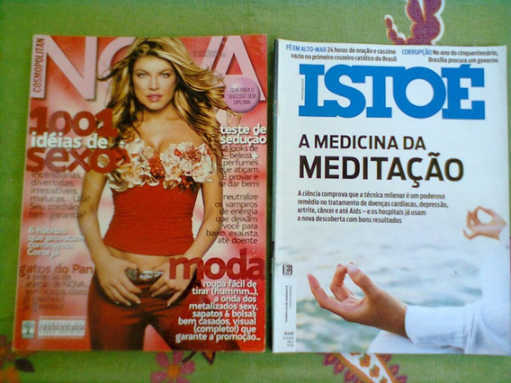* Jl 2 Revistas Nova Cosmopolitan + Isto É *
