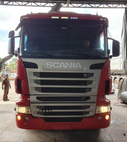 Imagem 1 de 15 de Scania R440 6x4 Ano 2013 / 2013 Caminhão Impecável