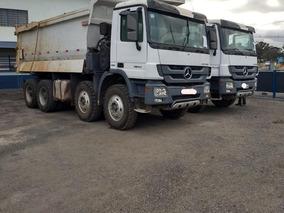 Caminhão Mercedes Benz Actros 8x4 4844 Basculante Caçamba