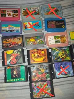 Cartuchos De Sega Y Family (buen Estado)