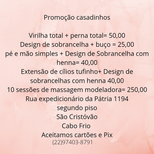 Studio De Beleza Géssica Pereira Designer