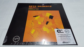 Lp Vinil Getz / Gilberto - Remaster 2016 Decca Imp. Lacrado