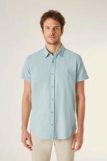 Camisa Mc Pf Oxford Color Reserva
