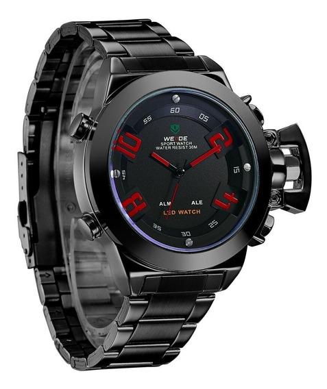 Relógio Weide Masculino Militar Esportivo Digital Original