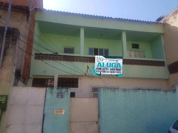 Casa Com 2 Dormitórios Para Alugar, 60 M² Por R$ 800,00/mês - Campo Grande - Rio De Janeiro/rj - Ca0462