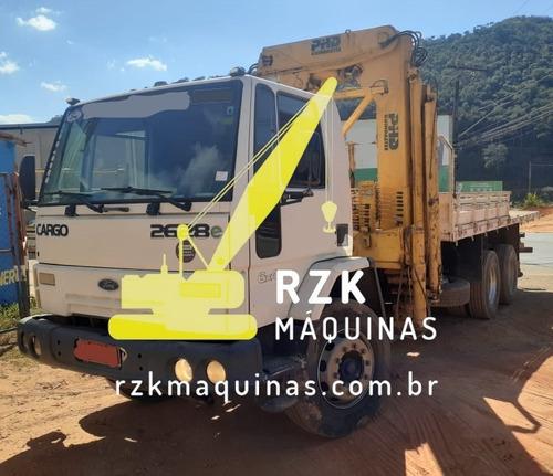Imagem 1 de 15 de Caminhão Guindauto Cargo 2628e 6x4 Phd 40 2009/13