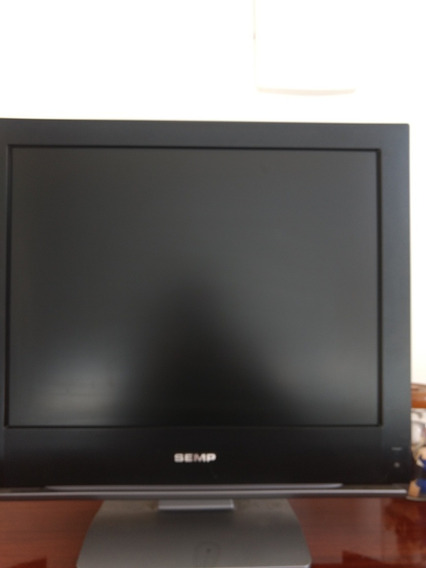 Tv / Monitor Lcd Semp Toshiba 20 Com Controle Original