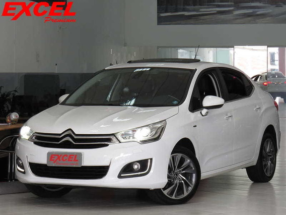 Citroen C4 Lounge 1.6 Exclusive 16v Turbo Gasolina 4p A
