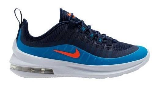 Tenis Casual Nike Air Max Axis Bg 2402 Azul Niño
