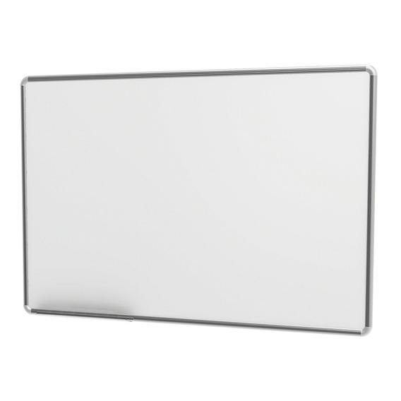 Quadro Lousa Branco 70x100cm Moldura Alumínio Stalo Free