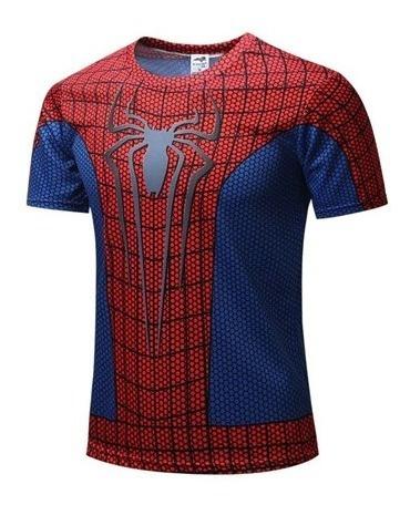 Playera Deportiva Spiderman El Hombre Araña