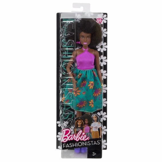Barbie Fashionista Colecionador Negra Cabelo Black