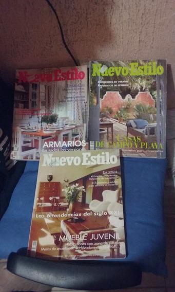 Revista Importada Nuevo Estilo 03 Unidades Oferta 30 Reais