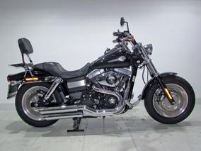 Harley-davidson Dyna Fat Bob 2013 Preta
