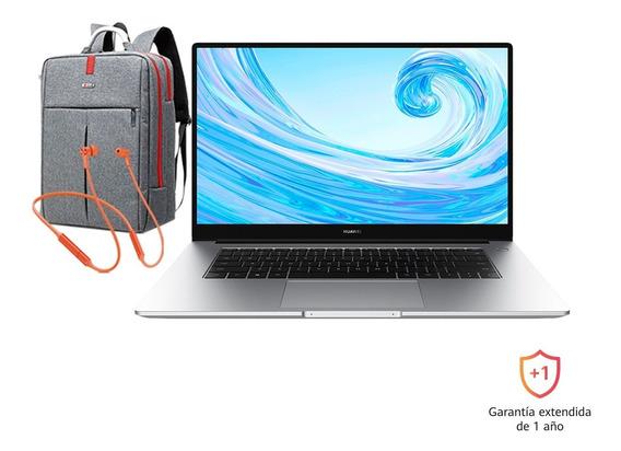 Huawei Matebook D 15 256gb + Huawei Freelace + Morral