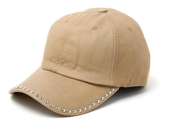 Cap Gorra Visera Sombrero Mujer Engomado Tachas