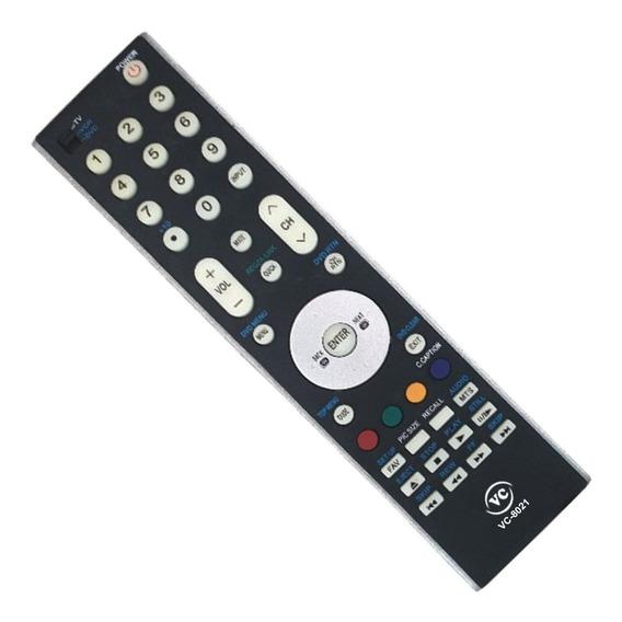 Controle Remoto Compatível Tv Lcd Toshiba Vc-8021