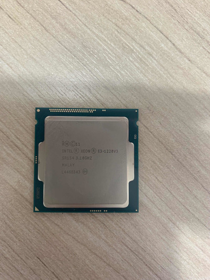 Processador Xeon E3-1220v3