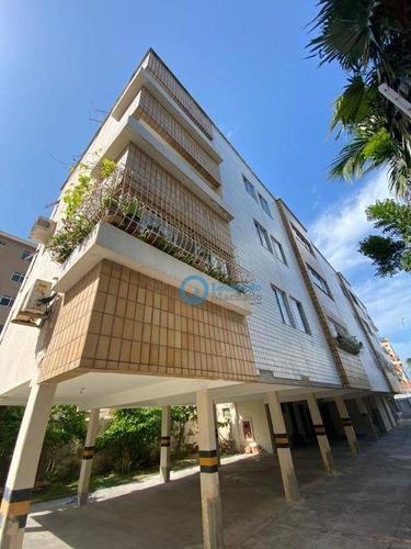 Apartamento Com 3 Dormitórios À Venda, 111 M² Por R$ 210.000,00 - Papicu - Fortaleza/ce - Ap1007
