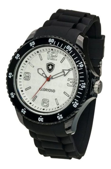 Relógio Bel Watch Botafogo Logo Preto