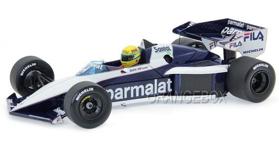 F1 Brabham Bmw Bt52b Ayrton Senna Paul Ricard 83 Minichamps