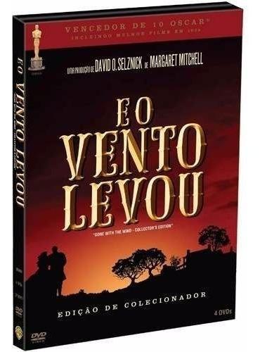 Box 4 Dvds E O Vento Levou