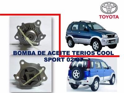 Bomba De Aceite Toyota Terios Cool Sport 2002-2007 J122