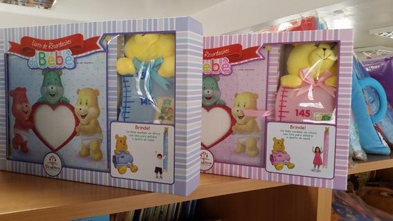 Álbum Do Bebê O Livro De Recordações - Azul Ou Rosa