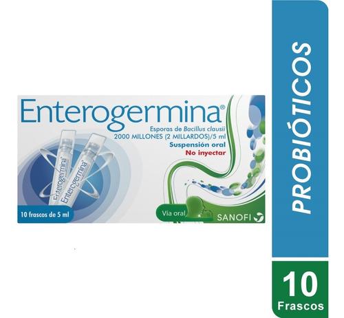 Enterogermina Caja X 10 Ampollas Bebibles