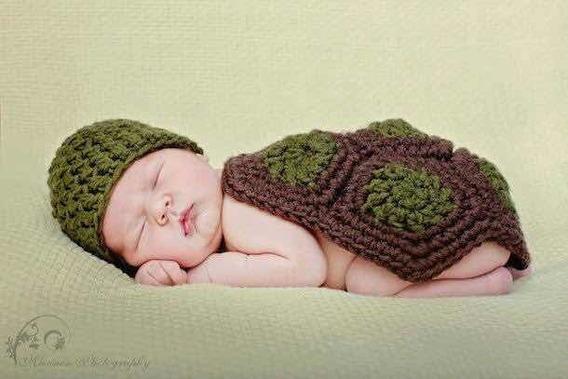 Roupa Newborn Tartaruga