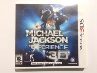 Juego 3ds Y Ds Michael Jackson - The Experience