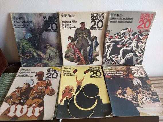 Lote De 6 Revistas História Do Século 20 Antigas Déc 70