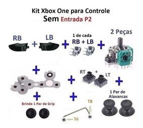 Kit Reparo Xbox One Controle Sem Entrada P2- Frete R$ 16,02