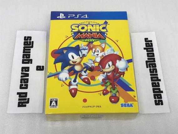 Sonic Mania Plus Limited Edition Ps4 - Edição Japonesa