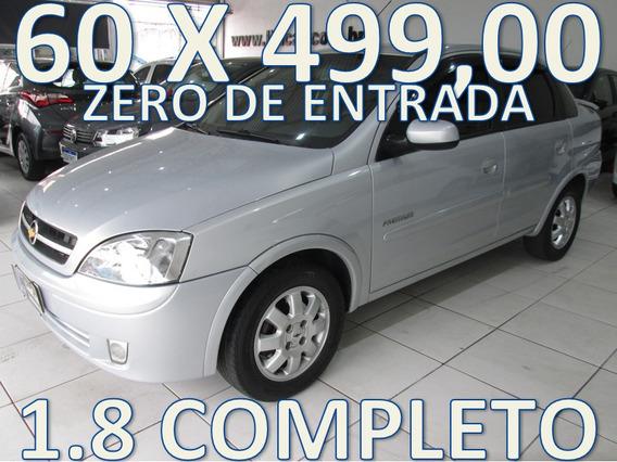 Chevroleto Corsa Sedan 1.8 Premium Completo Zero De Entrada