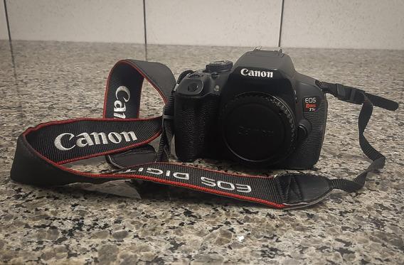 Canon T5i Com Flash E Lentes 18-135mm E 50mm.