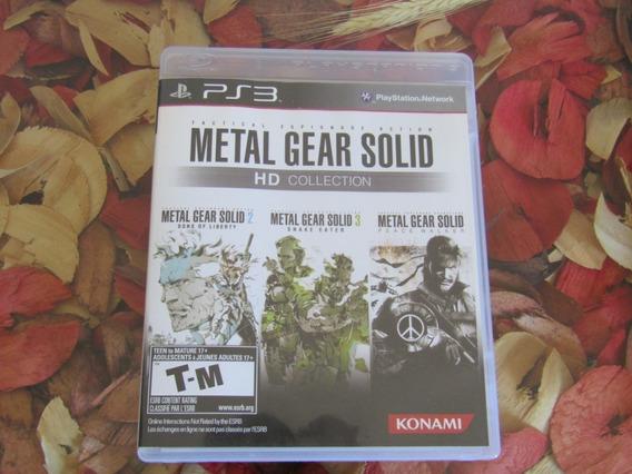 Metal Gear Solid Hd Collection Mídia Física