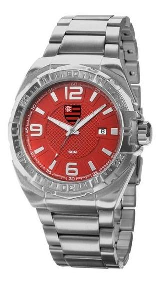 Relógio Technos Flamengo Escudo Prata