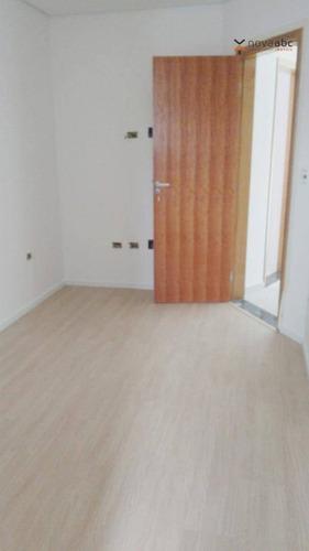 Imagem 1 de 8 de Apartamento Com 2 Dormitórios À Venda, 43 M² Por R$ 265.000,00 - Vila Helena - Santo André/sp - Ap3038