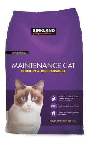 Imagen 1 de 1 de Alimento Kirkland Signature Super Premium Maintenance Cat para gato adulto sabor pollo/arroz en bolsa de 25lb