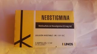 Libros De Neostigmina (metilsulfato De Neostigmina 0.5mg)