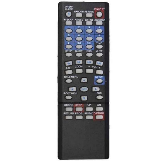 Controle Remoto Para Dvd Inovox