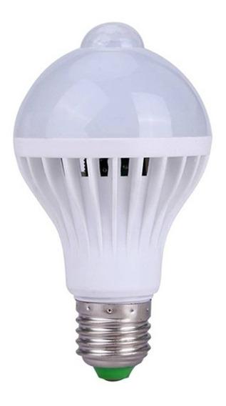 Lâmpada Bulbo Led 12w Com Sensor De Presença Bivolt
