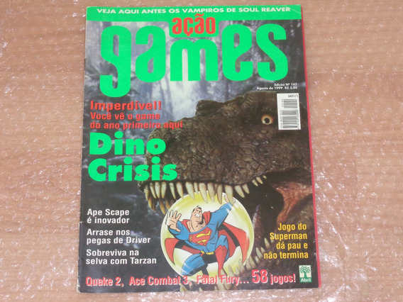 Revista Dino Crisis , Superman - Revista Ação Games