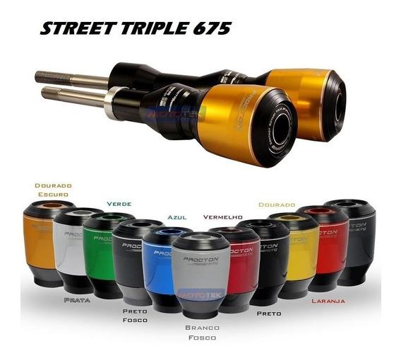 Slider Protetor Motor Procton Triumph Street Triple 675 R