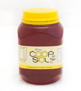 Miel Líquida 1 Kg. Coopsol. Miel Pura